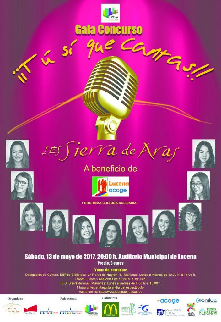 Gala Concurso ¡¡Tu si que cantas!! @ Auditorio Municipal