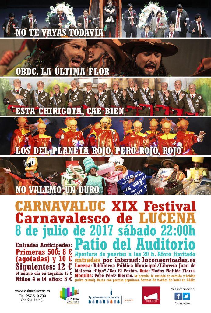 XIX Festival Carnavaluc @ Auditorio Municipal