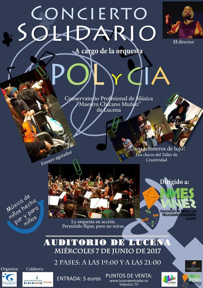 Concierto POLyCÍA @ Auditorio Municipal de Lucena