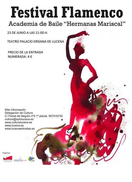"""Festival de Flamenco Academia de Baile """"Hermanas Mariscal"""" @ Palacio Erisana"""