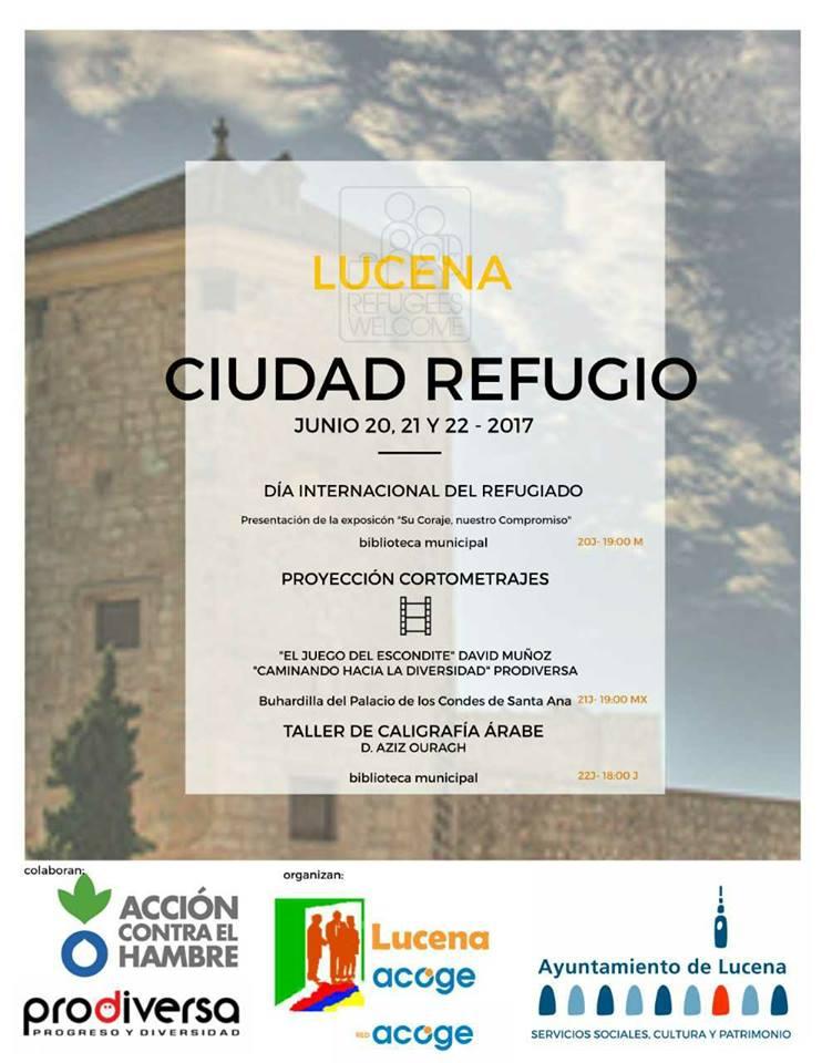 Lucena. Ciudad Refugio @ Palacio de los Condes de Santa Ana