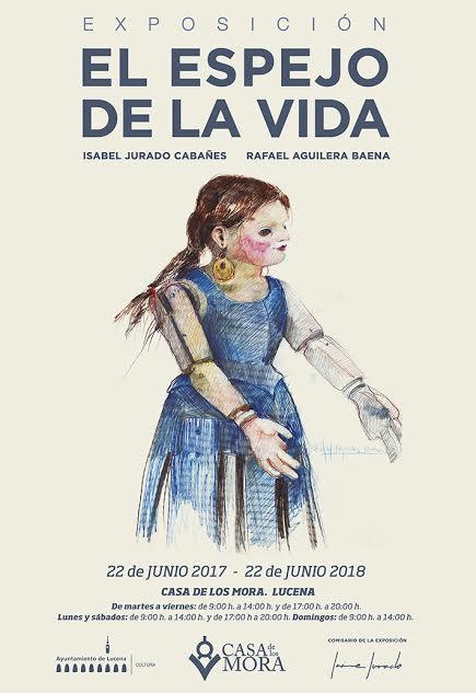 El espejo de la vida. Exposición Isabel Jurado + Rafael Aguilera @ Casa de los Mora