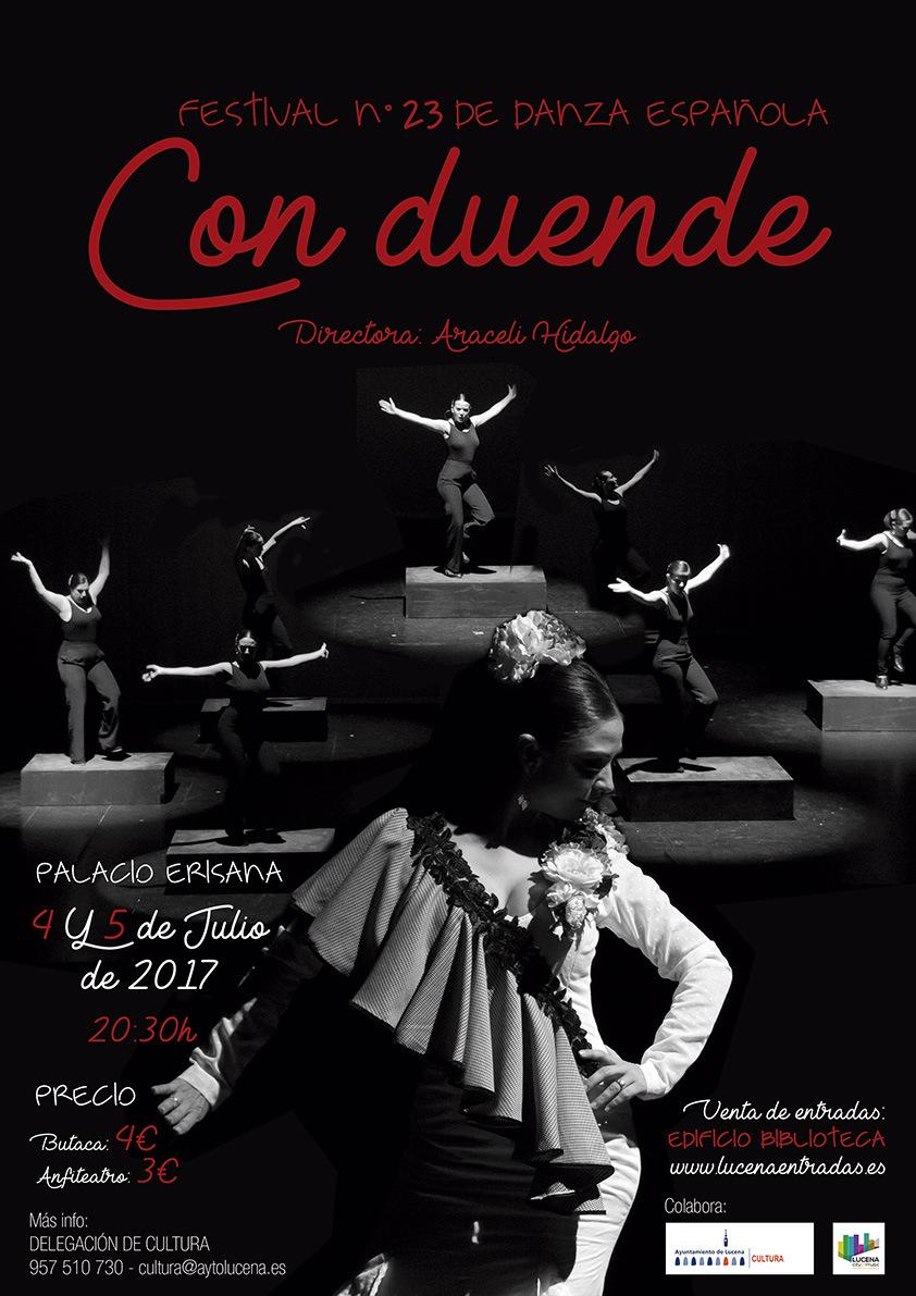 """23 Festival de Danza española """"Con duende"""" @ Palacio Erisana"""