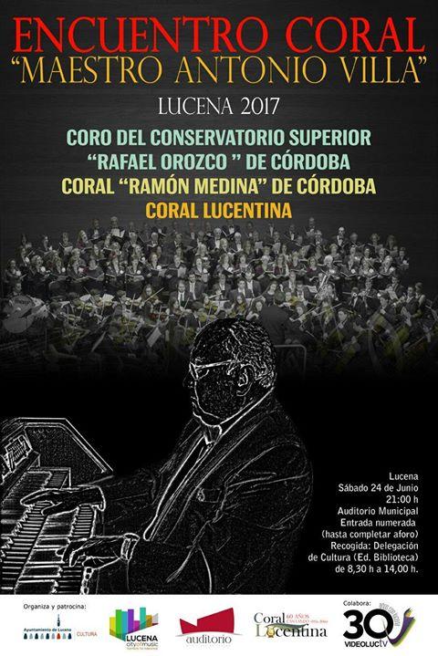 "Primer encuentro Coral ""Maestro Antonio Villa"" @ Auditorio Municipal"