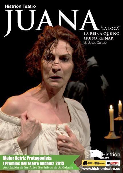 "XXSemanaTeatro ""Juana. La reina que no quiso reinar"" @ Auditorio Municipal"