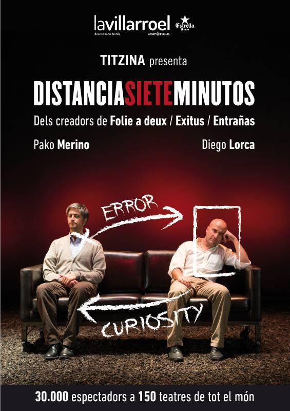 "XXSemanaTeatro ""Distancia 7 minutos"" @ Palacio Erisana"