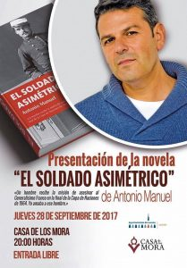 """Presentación novela """"El soldado asimétrico"""" @ Casa de los Mora"""