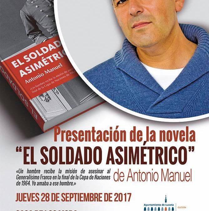 Presentación novela «El soldado asimétrico»