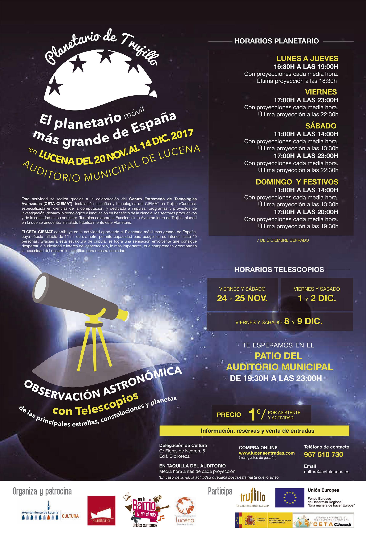 Planetario de Trujillo @ Auditorio Municipal