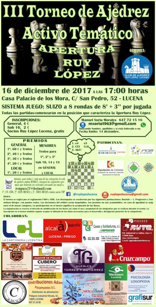 III Torneo de Ajedrez Temático @ Casa de los Mora