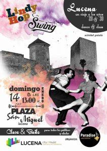 Exhibición de Lindy Hop y Swing @  Plaza San Miguel