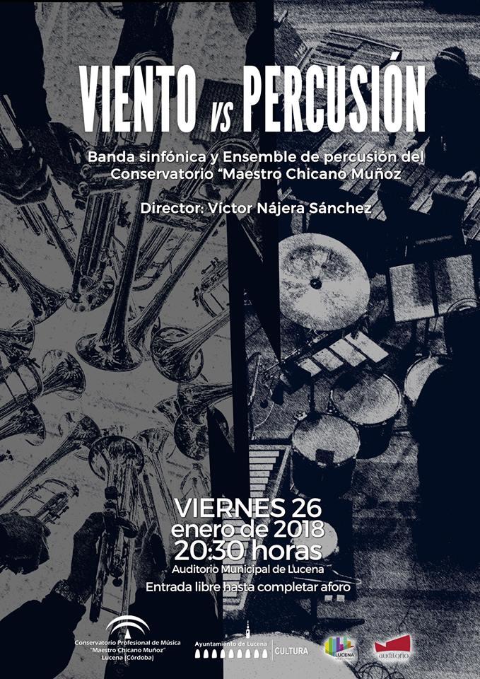 Concierto: Viento versus Percusión @ Auditorio Municipal