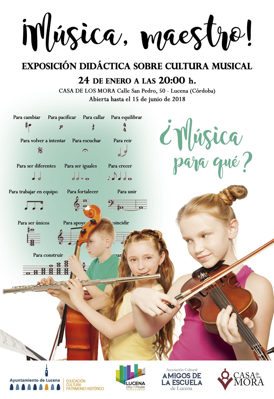 Exposición: ¡Música, maestro!. @ Casa de los Mora
