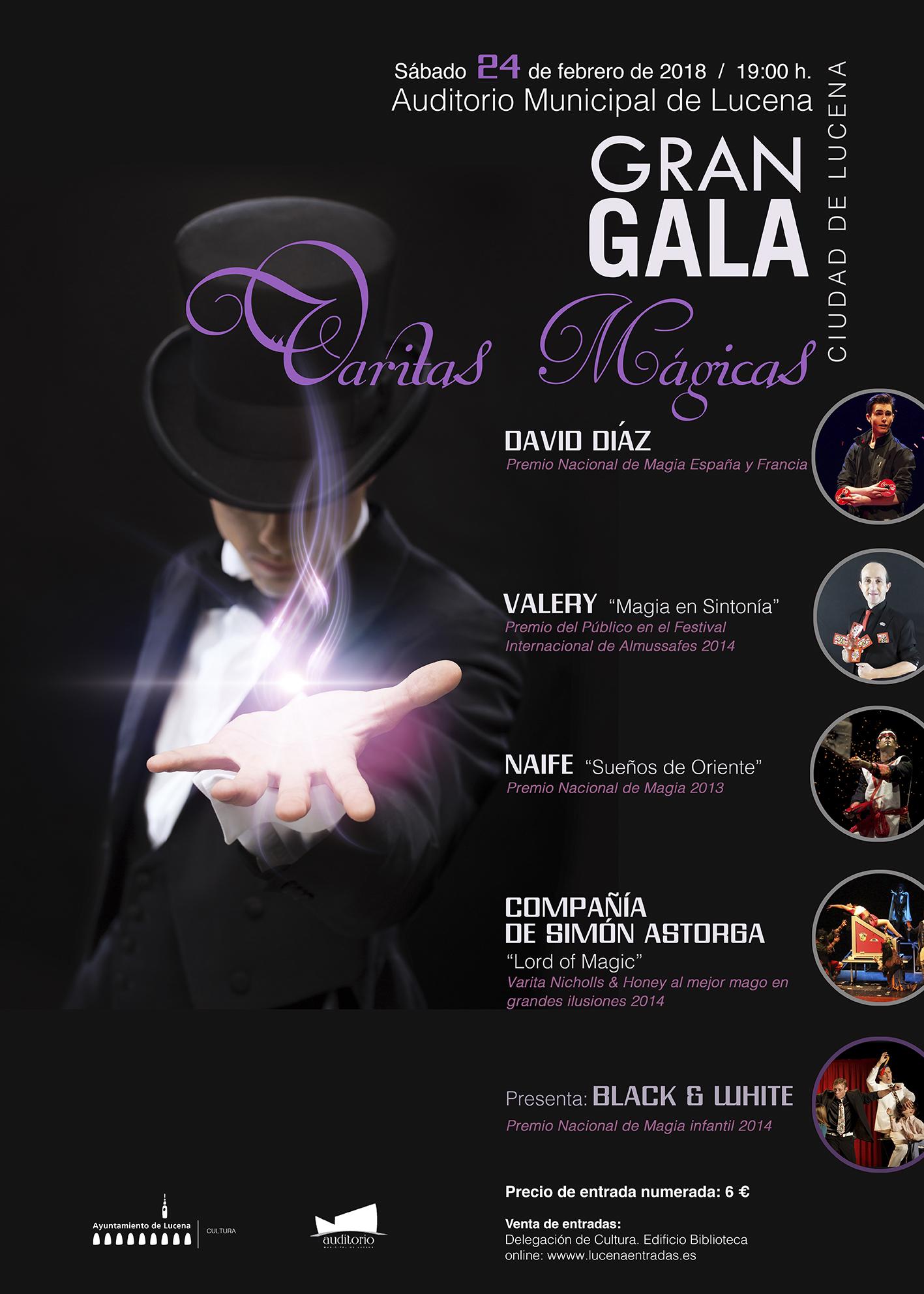 """La gran Gala """"Varitas Mágicas"""" @ Auditorio Municipal"""