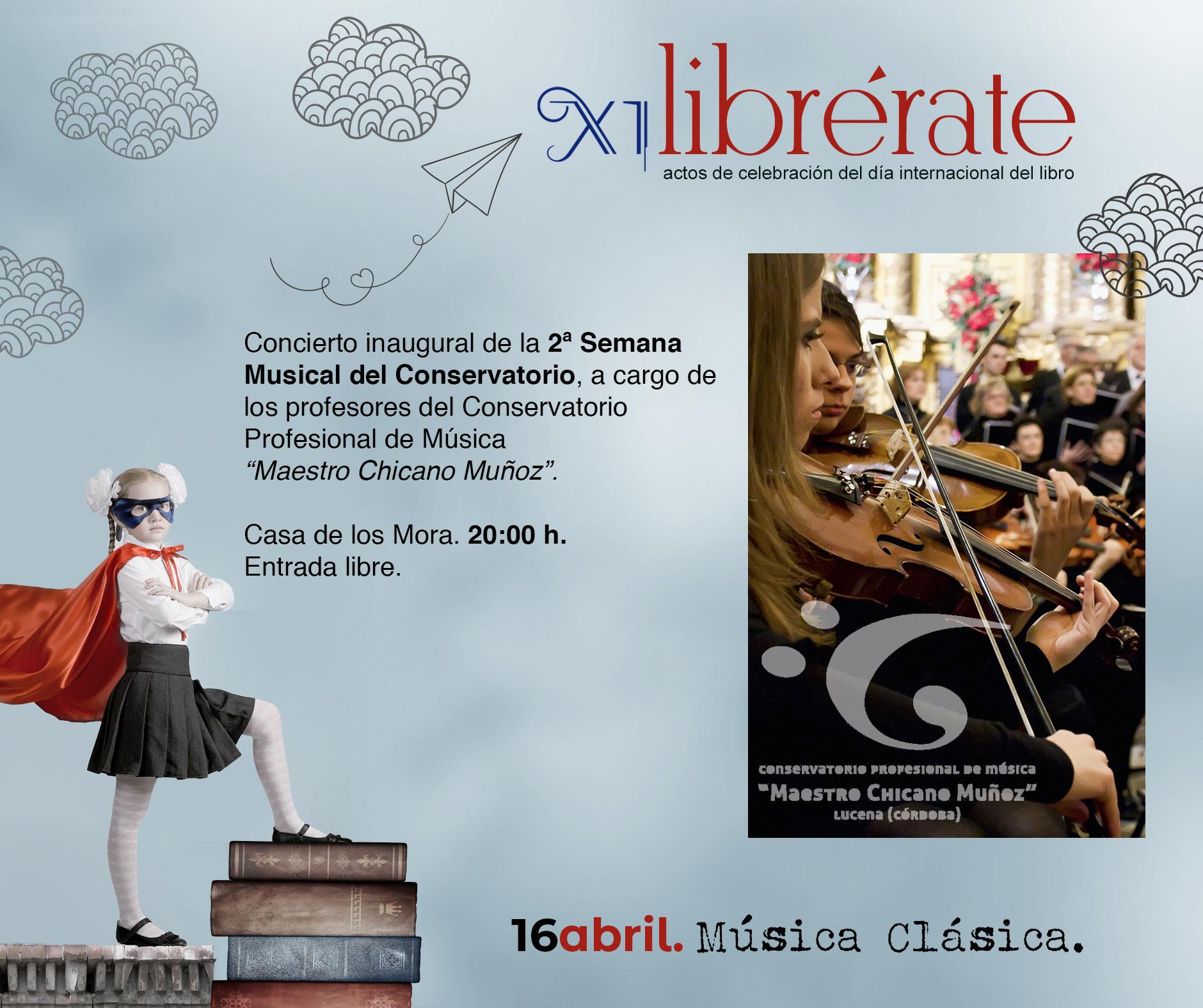 Concierto inaugural 2ª Semana Muiscal del Conservatorio