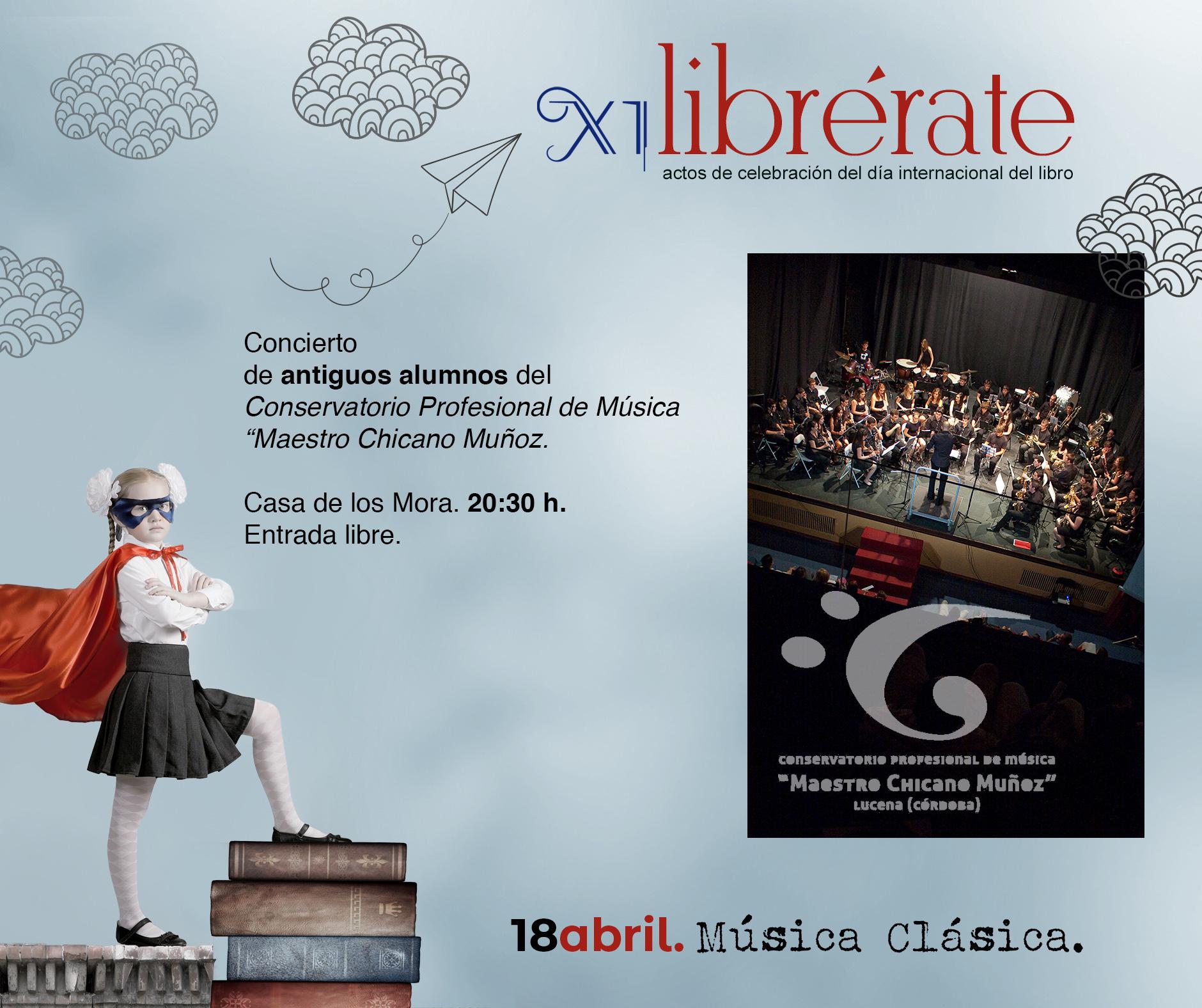 """Concierto  de antiguos alumnos del Conservatorio Profesional de Música """"Maestro Chicano Muñoz @ Casa de los Mora"""