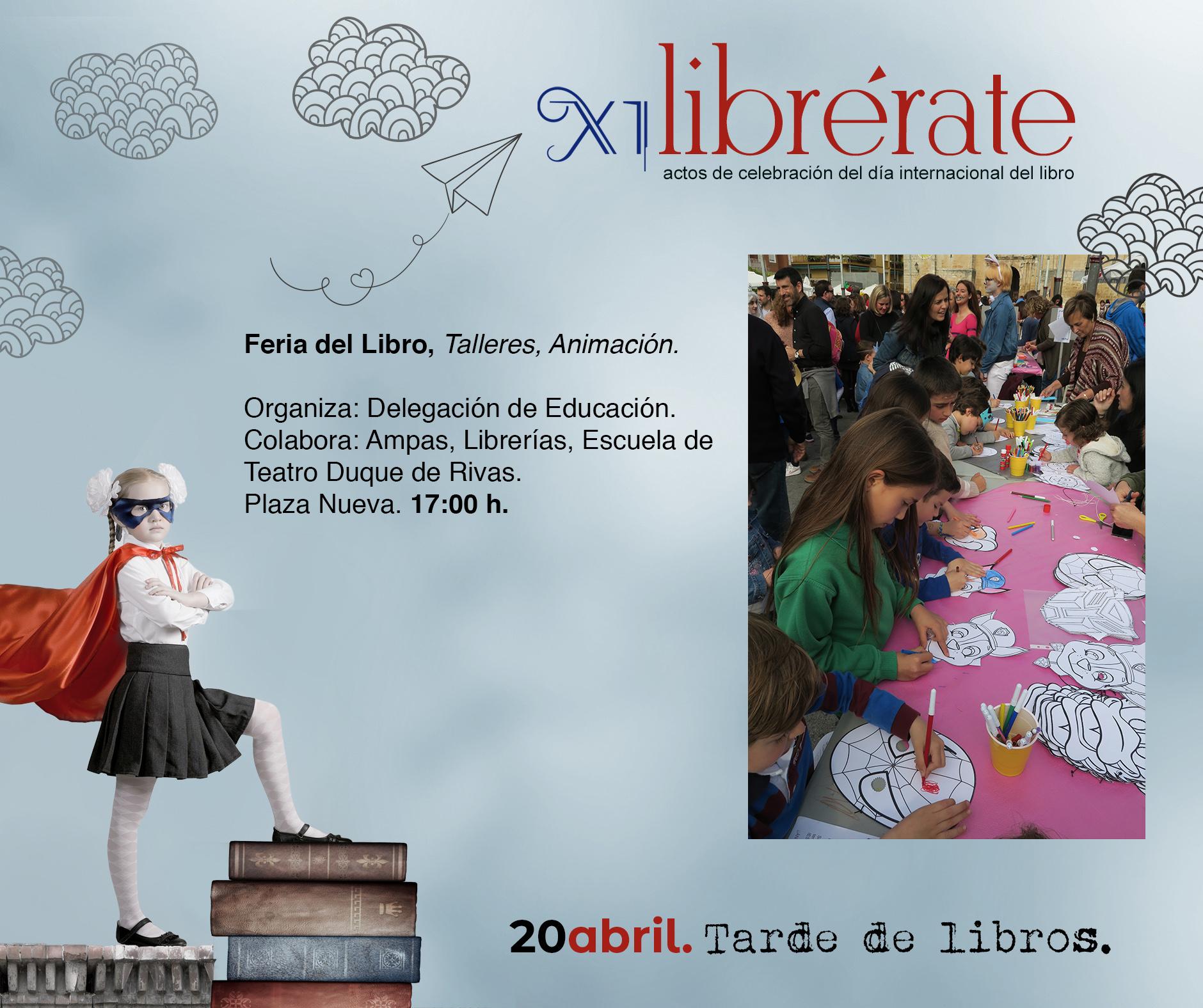 Feria del Libro, Talleres, Animación @ Plaza Nueva