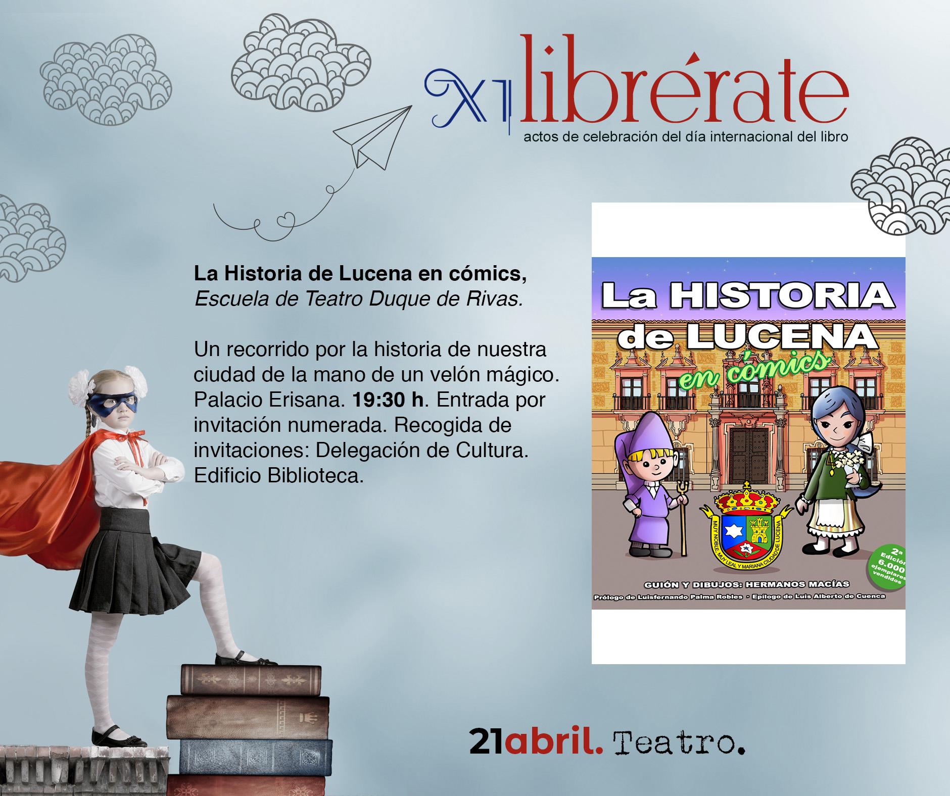 La Historia de Lucena en cómic @ Palacio Erisana