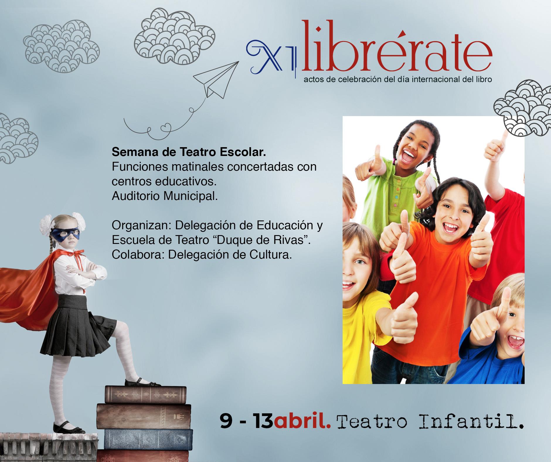 Semana de Teatro Escolar @ centros educativos