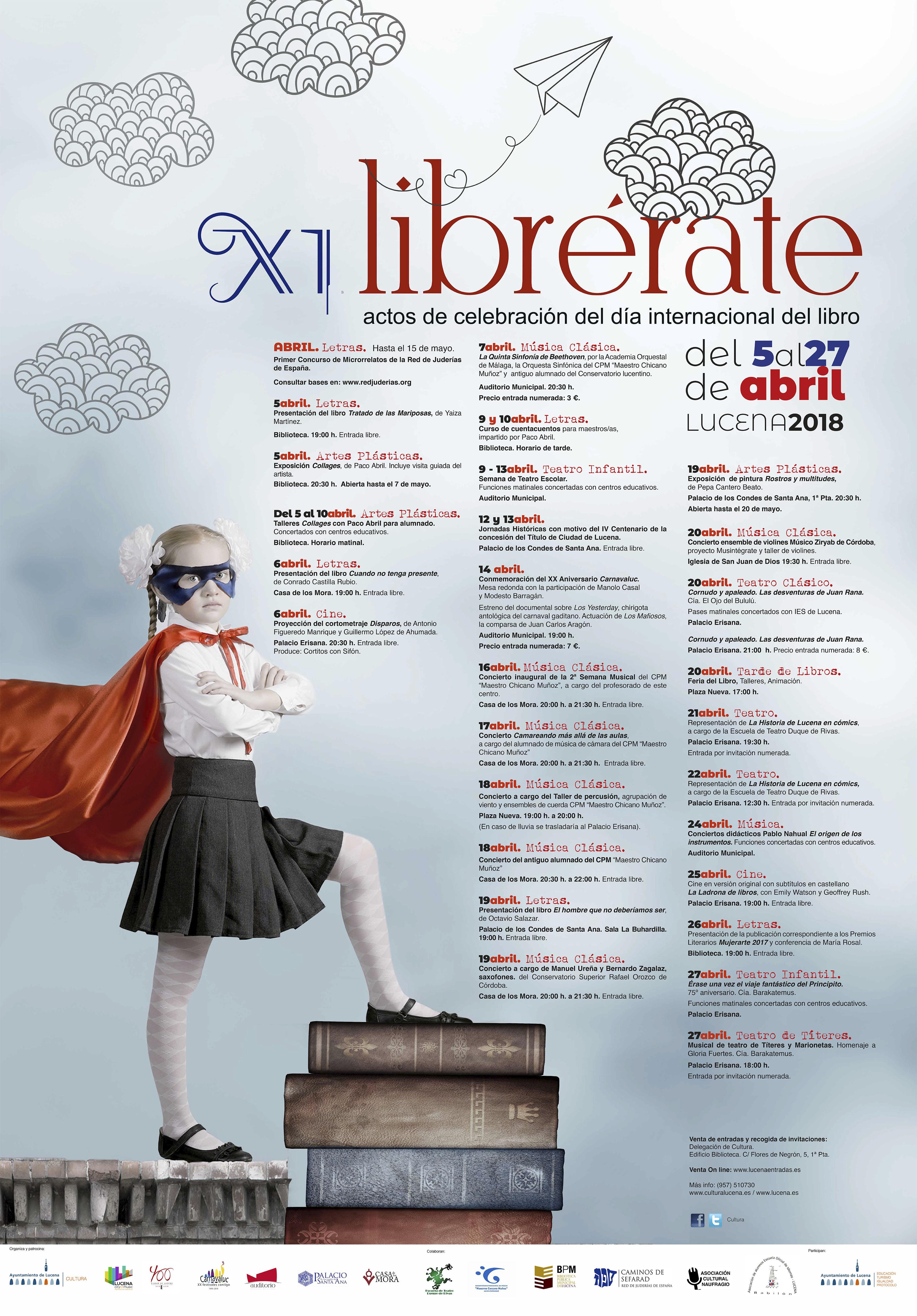 LIBRÉRATE XI @ varios espacios