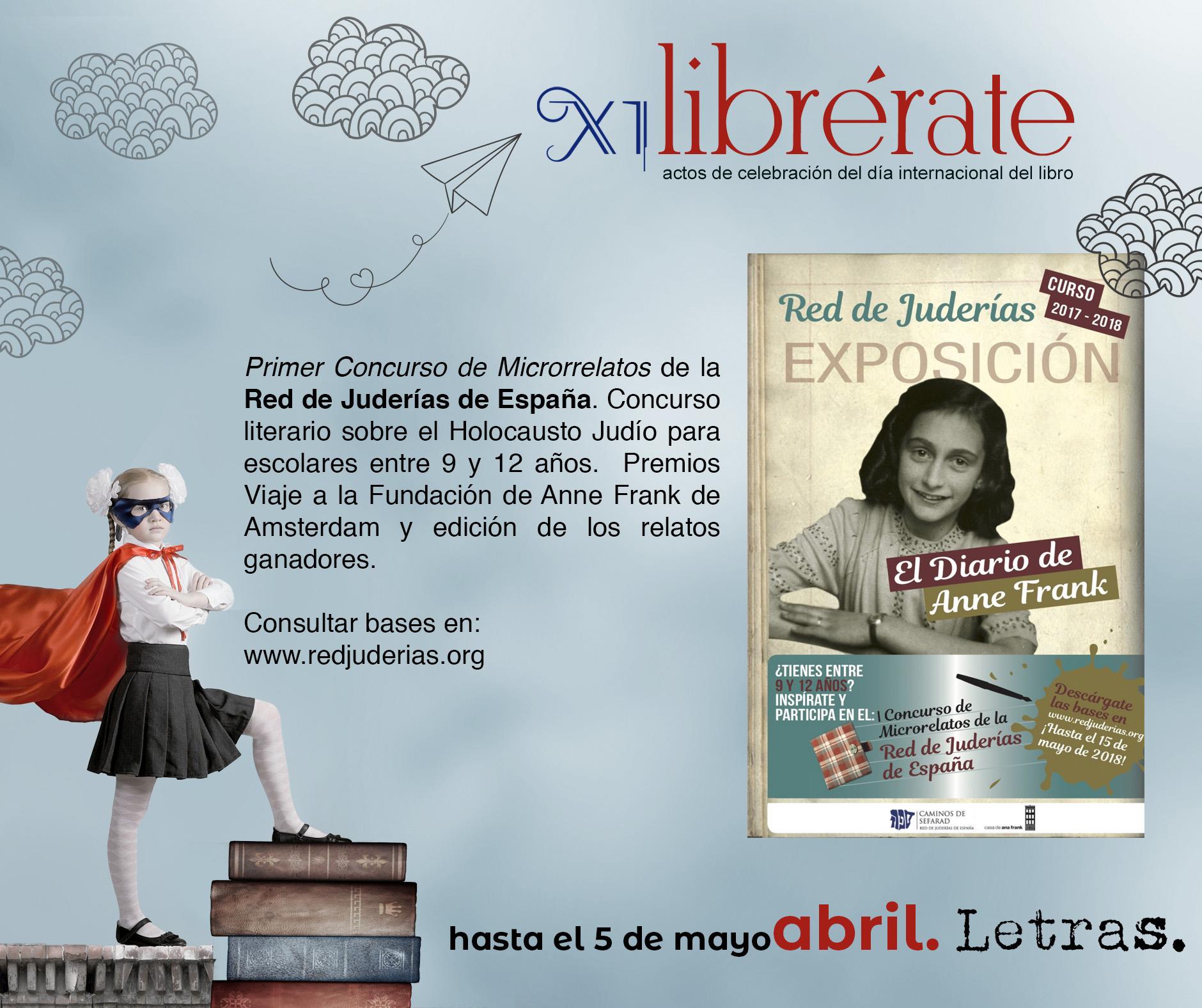 Primer Concurso de Microrrelatos de la Red de Juderías de España @ www.redjuderias.org