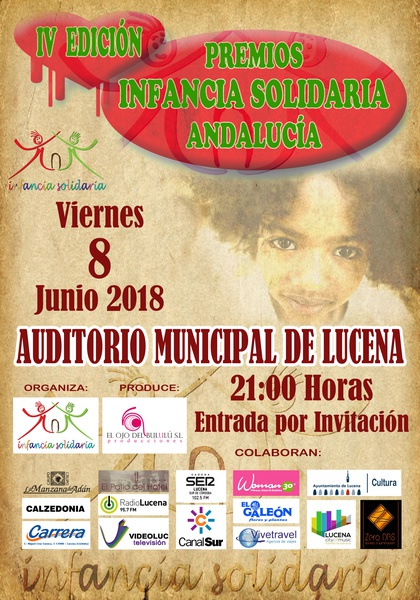 "IV GALA DE PREMIOS ""INFANCIA SOLIDARIA"" @ Auditorio Municipal"