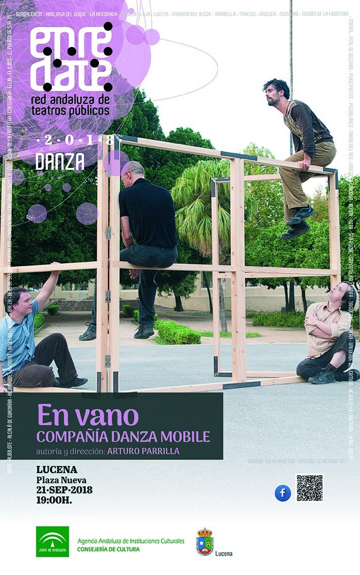 """""""En vano"""" de la compañía """"Danza Mobile"""" @ Plaza San Miguel"""