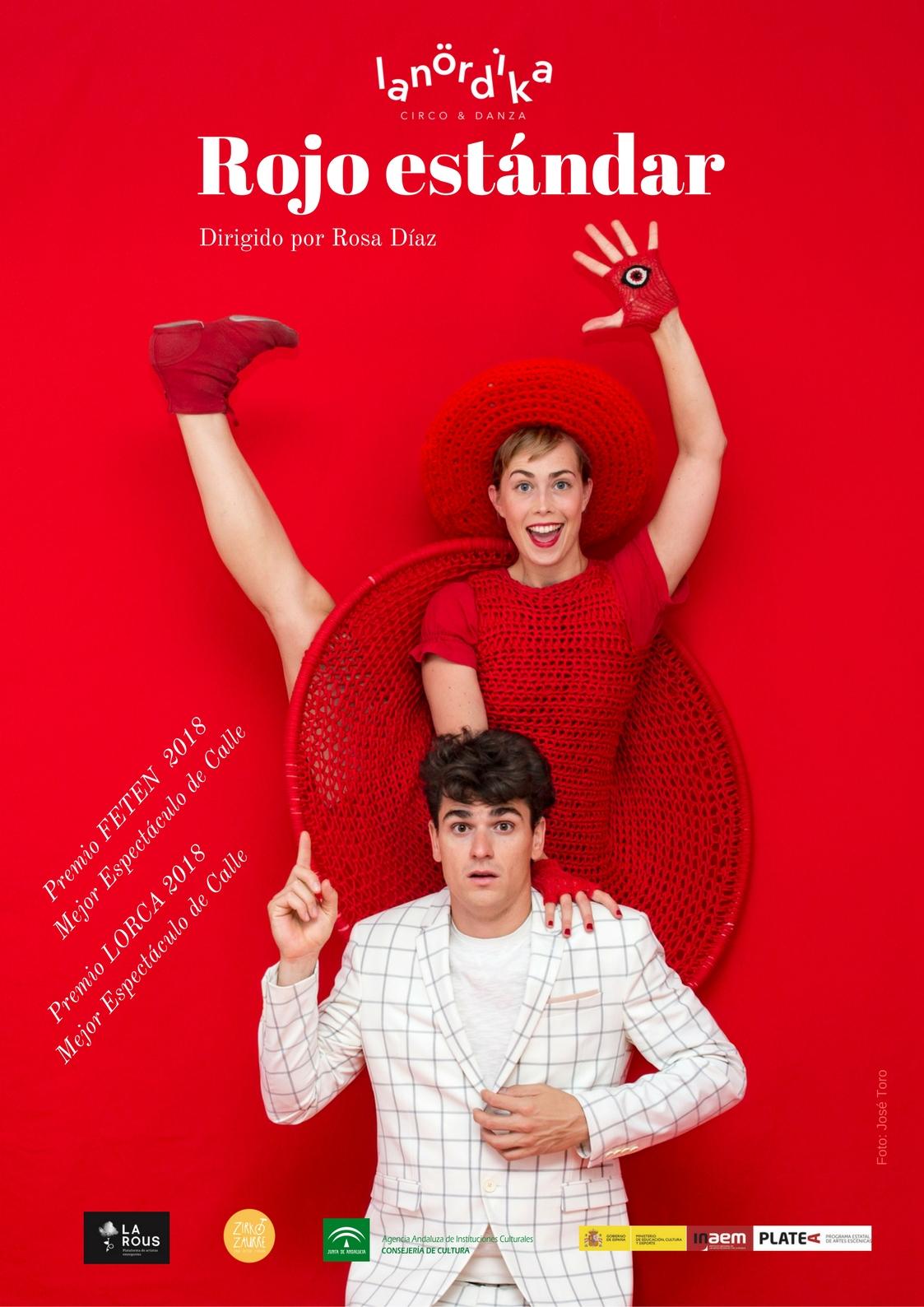 Rojo estandar @ Plaza Nueva | Lucena | Andalucía | España