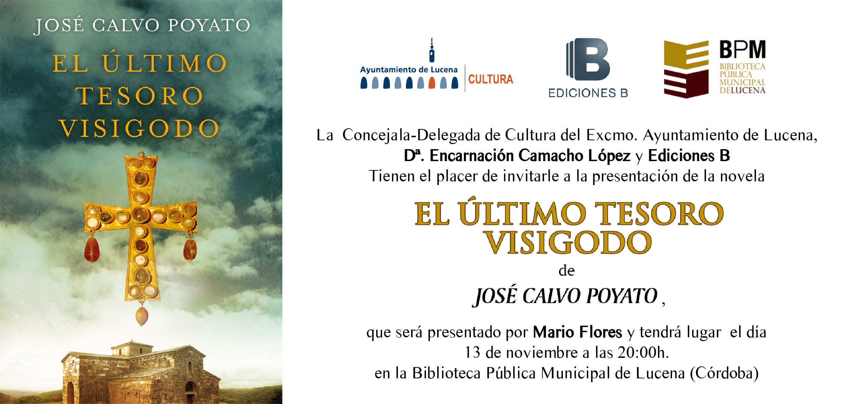 """El último tesoro visigodo"" @ Biblioteca Pública Municipal"