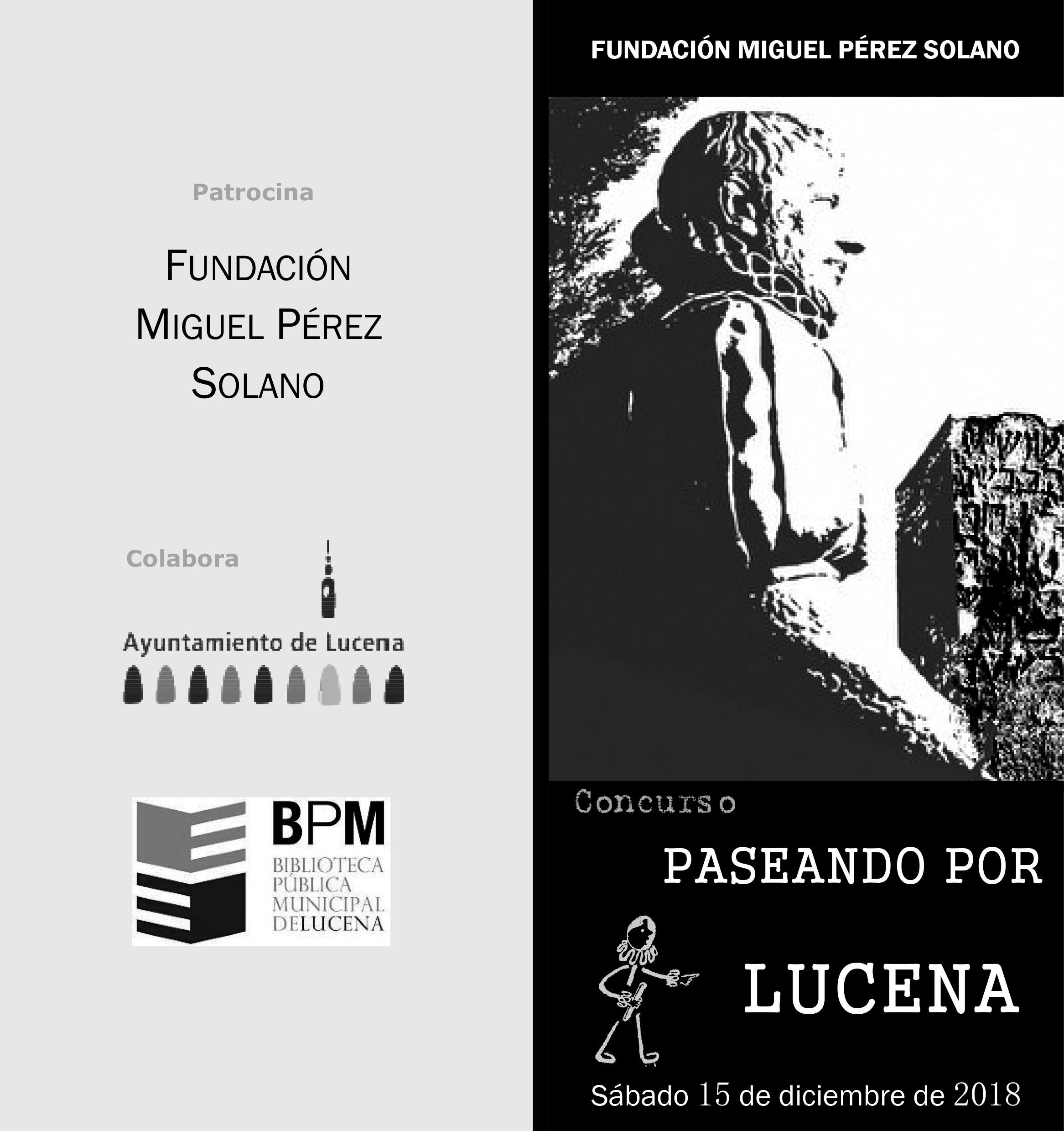 PASEANDO POR LUCENA @ Biblioteca Pública Municipal