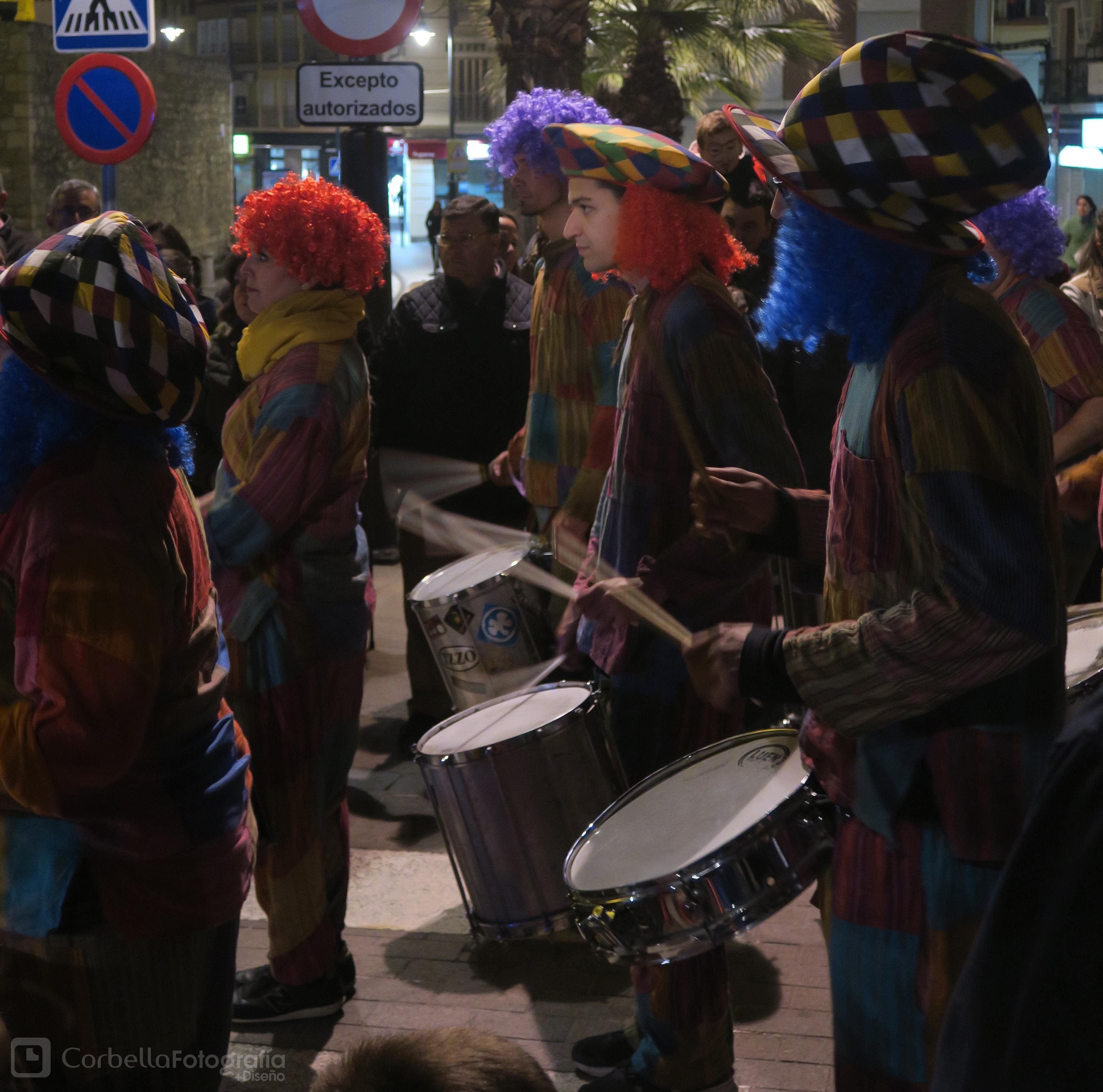 Gran Pasacalles de Carnaval @ Finaliza en Plaza Nueva