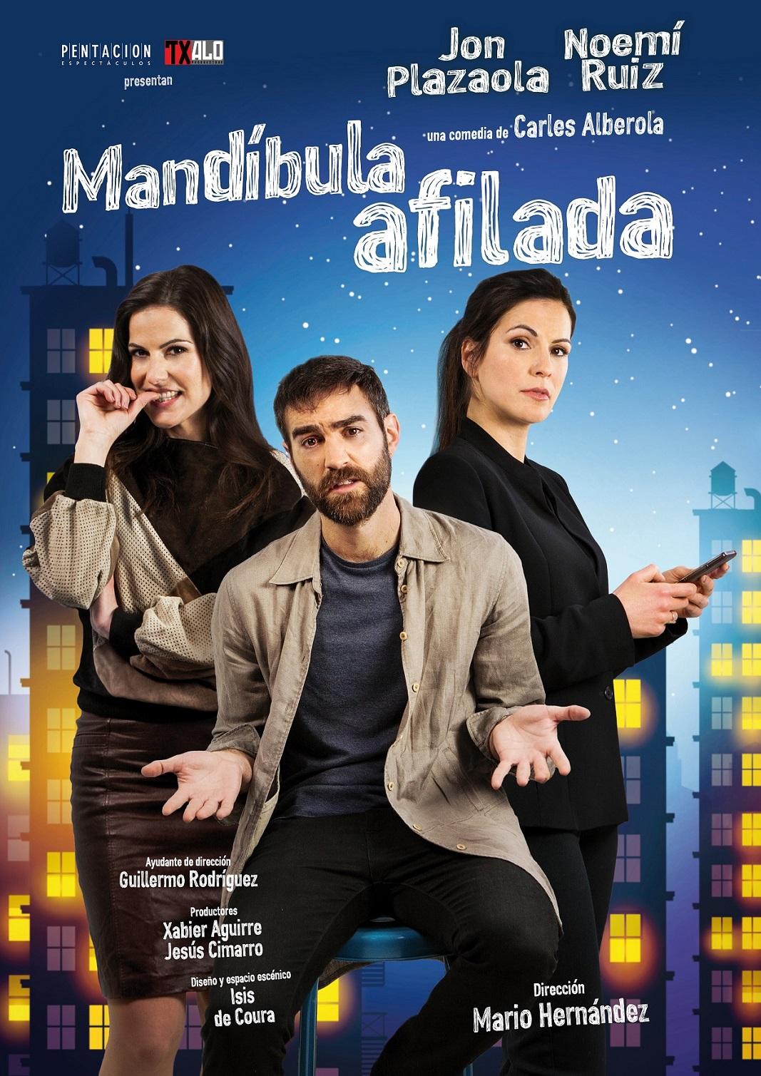 """""""Mandíbula afilada"""" Cía Txalo Producciones @ Auditorio Municipal"""