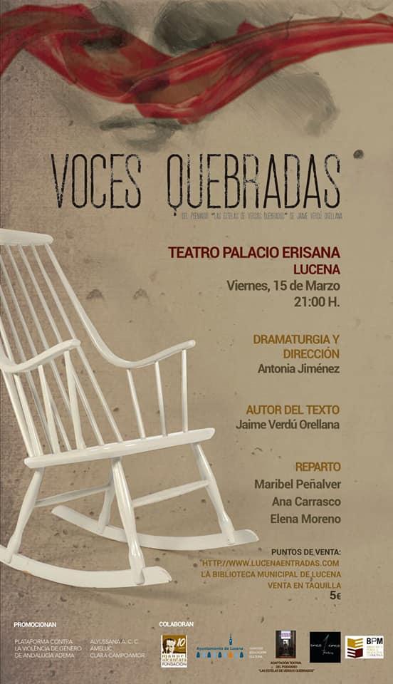VOCES QUEBRADAS @ Palacio Erisana