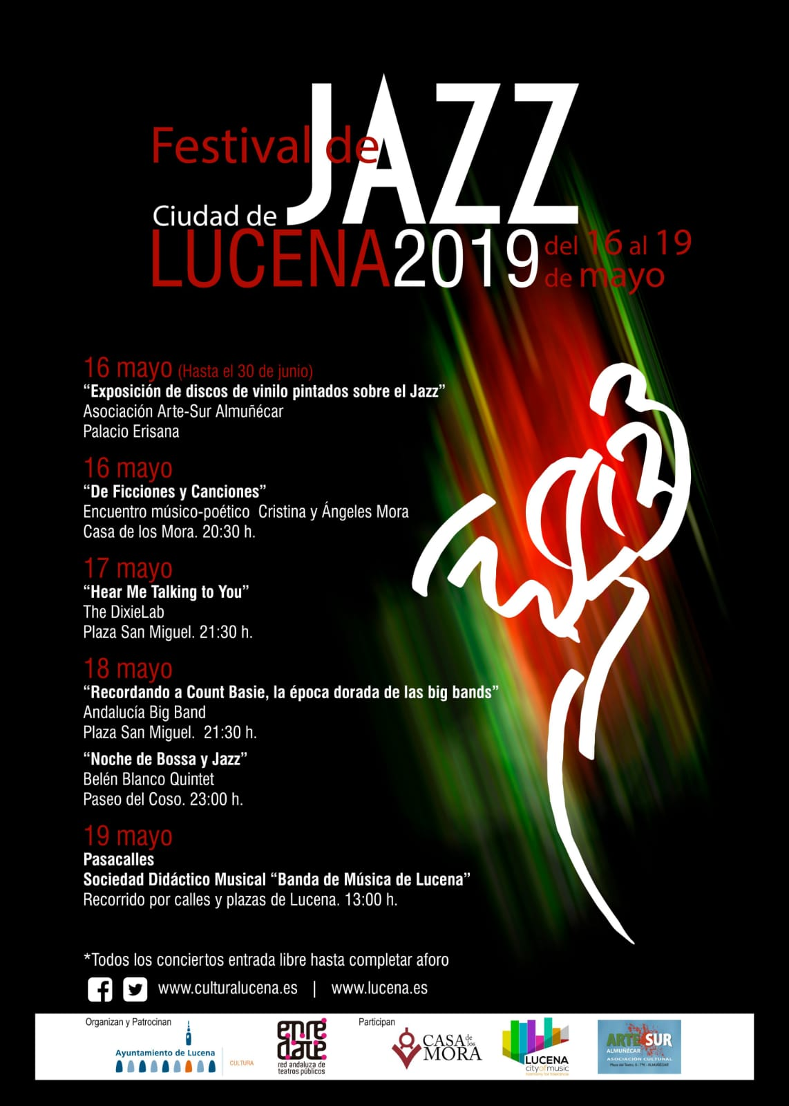 Festival de Jazz Ciudad de Lucena 2019 @ varios espacios