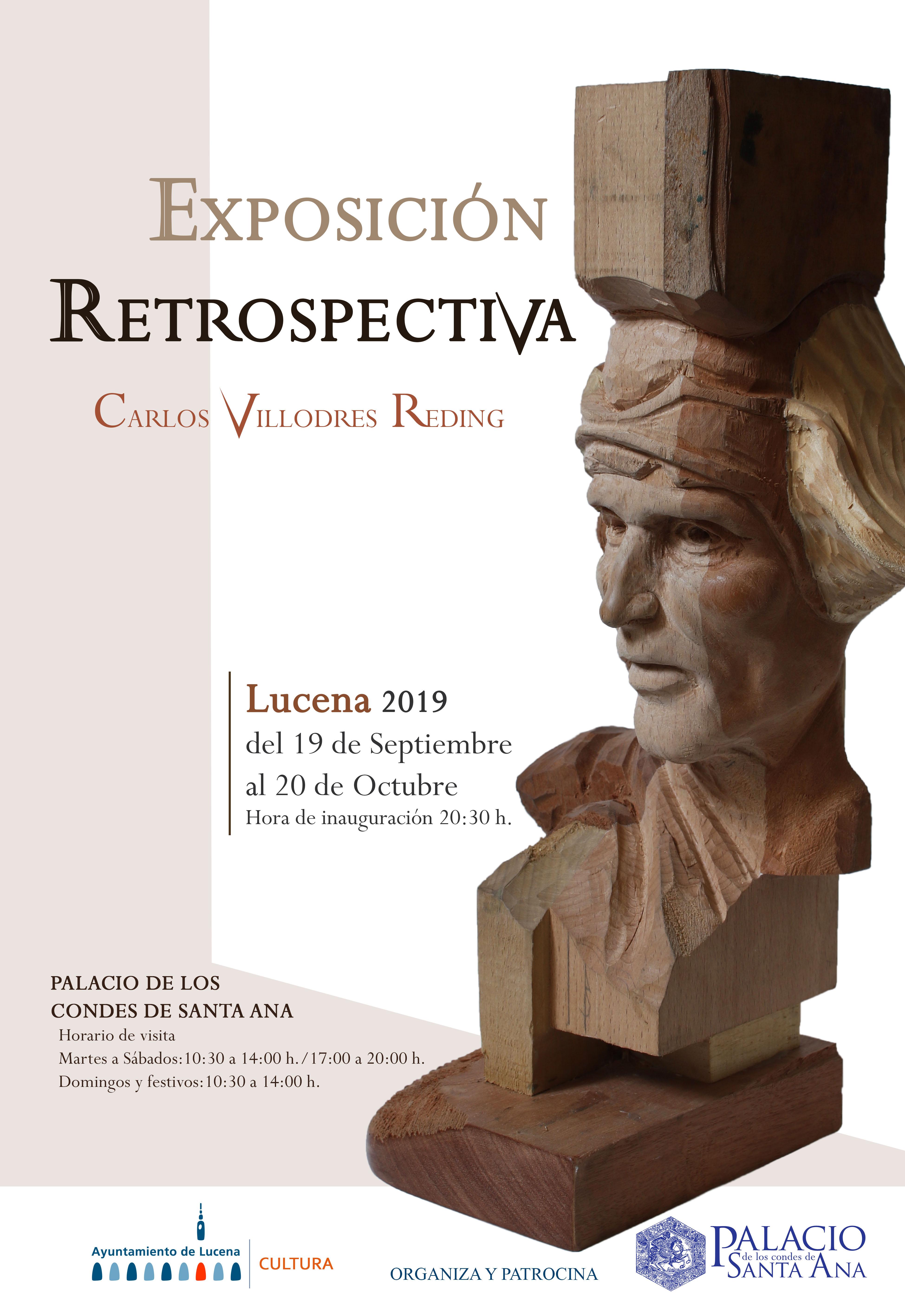 'Retrospectiva' del malagueño Carlos Villodres @ Palacio Condes de Santa Ana