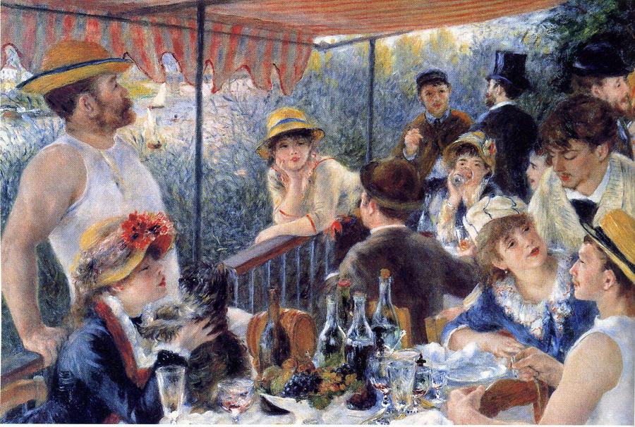 """""""Pintando un cuadro de Renoir"""" @ Biblioteca Pública"""
