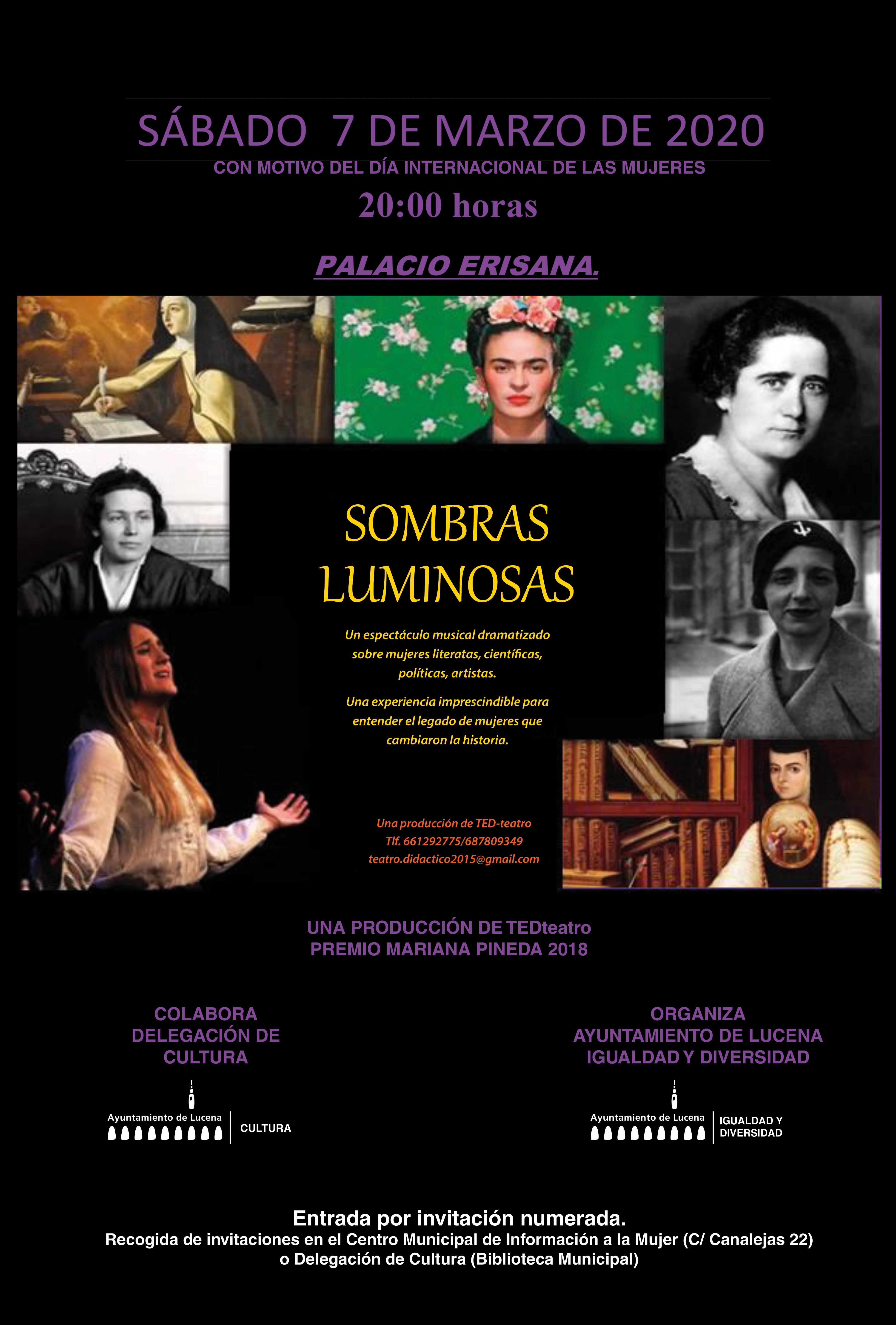 SOMBRAS LUMINOSAS @ Palacio Erisana