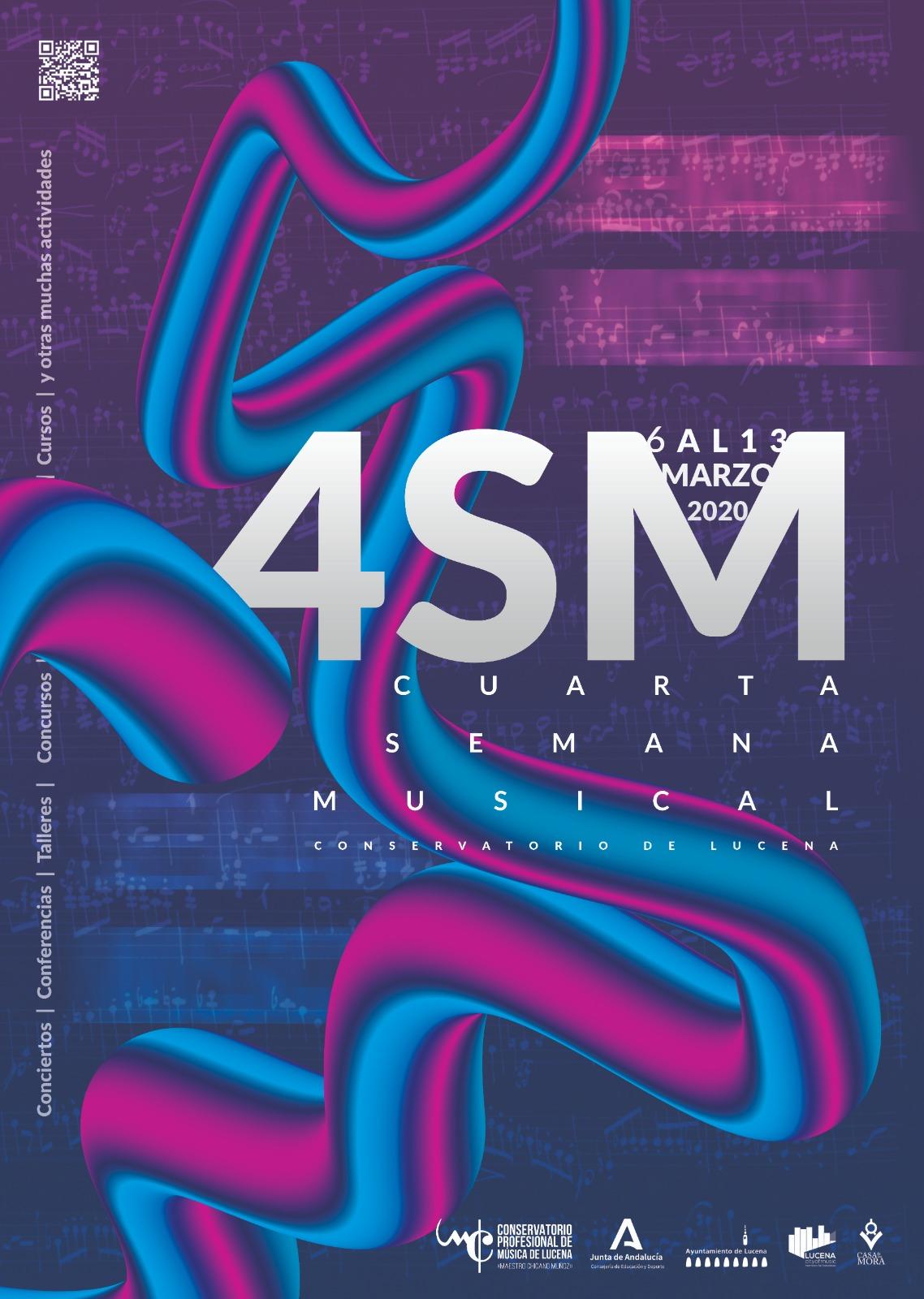 "La IV Semana Musical del C.P.M. ""Maestro Chicano Muñoz"" @ varios espacios"