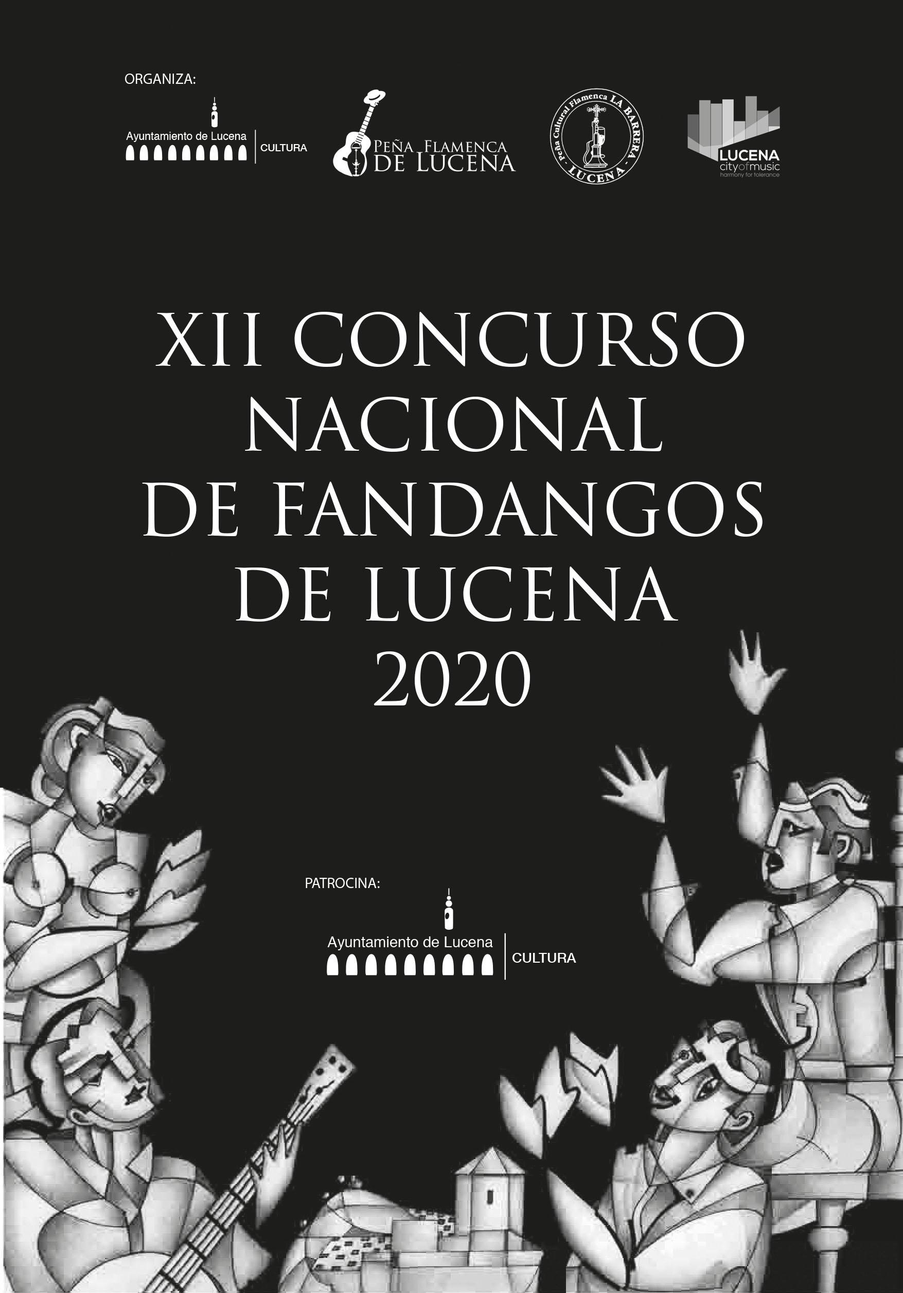 XII CONCURSO NACIONAL DE FANDANGOS DE LUCENA @ Delegación de Cultura
