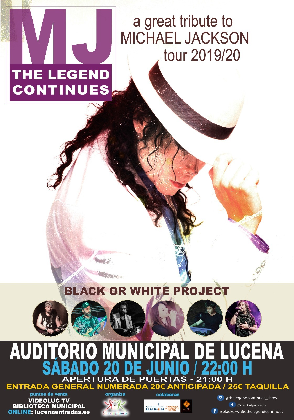 TRIBUTO A MICHAEL JACKSON @ Auditorio Municipal