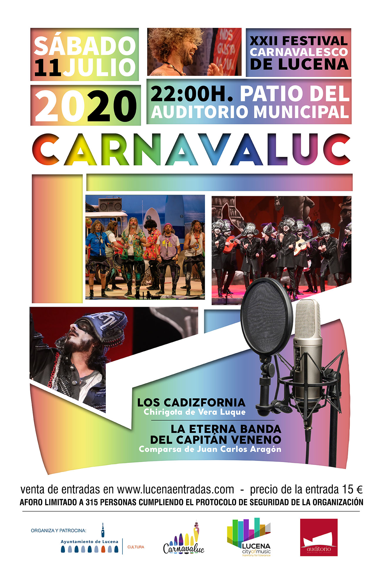 Carnavaluc 2020 @ Auditorio Municipal