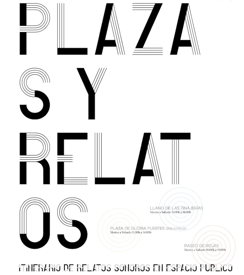 Plaza y Relatos SENSXPERIMENT @ varios espacios
