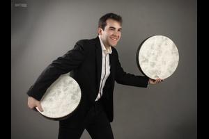 Recital de percusión del artista Álvaro Jurado @ casa de los Mora