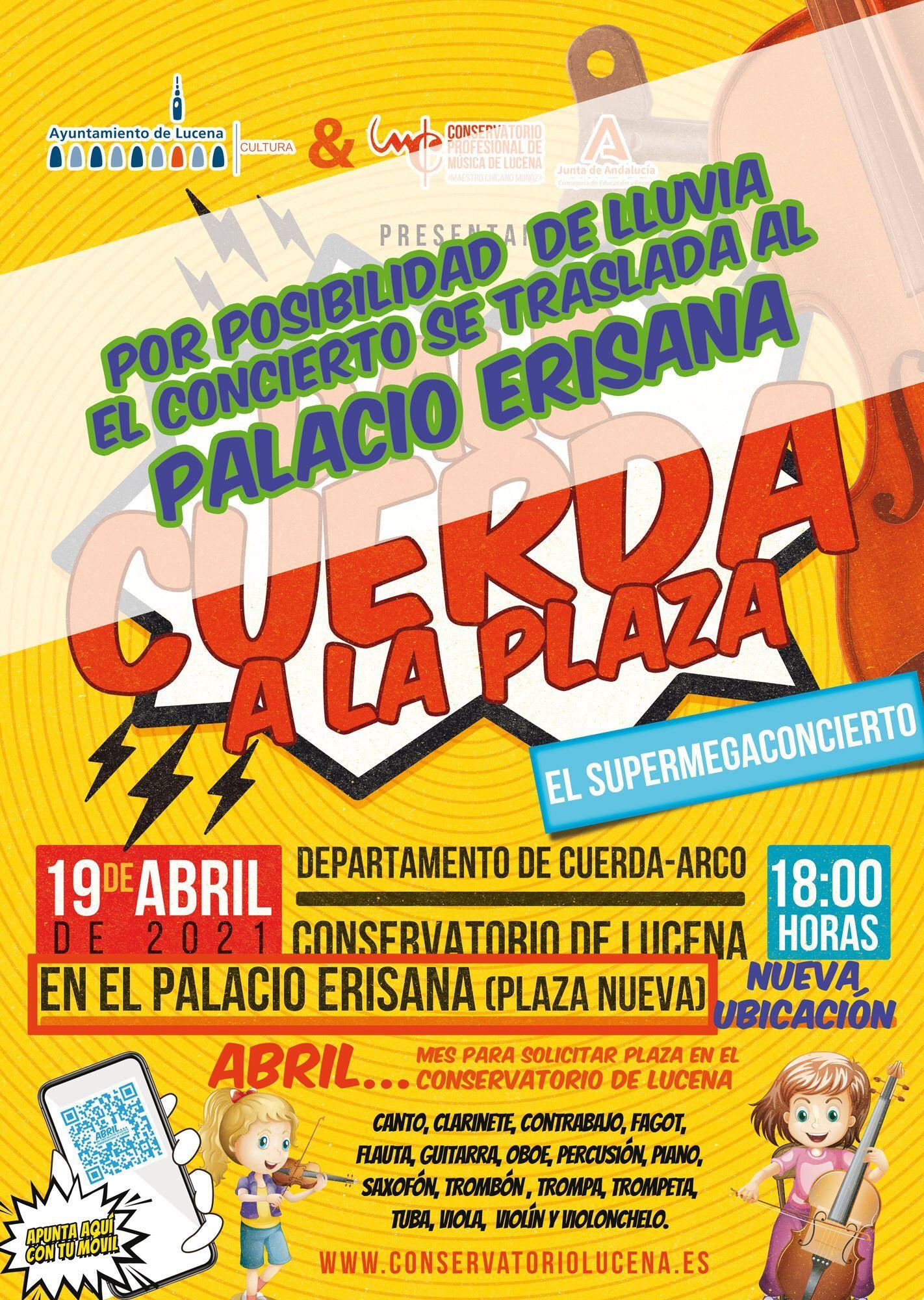 Concierto Cuerda en la plaza @ Palacio Erisana