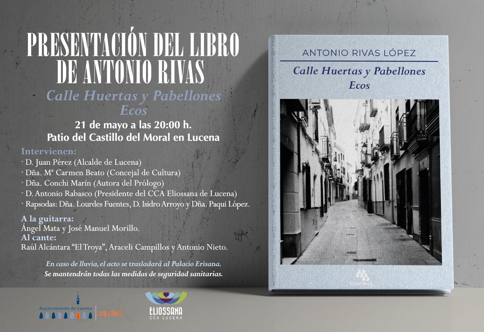 Flamenco y literatura: presentación poemario de Antonio Rivas @ Castillo del Moral