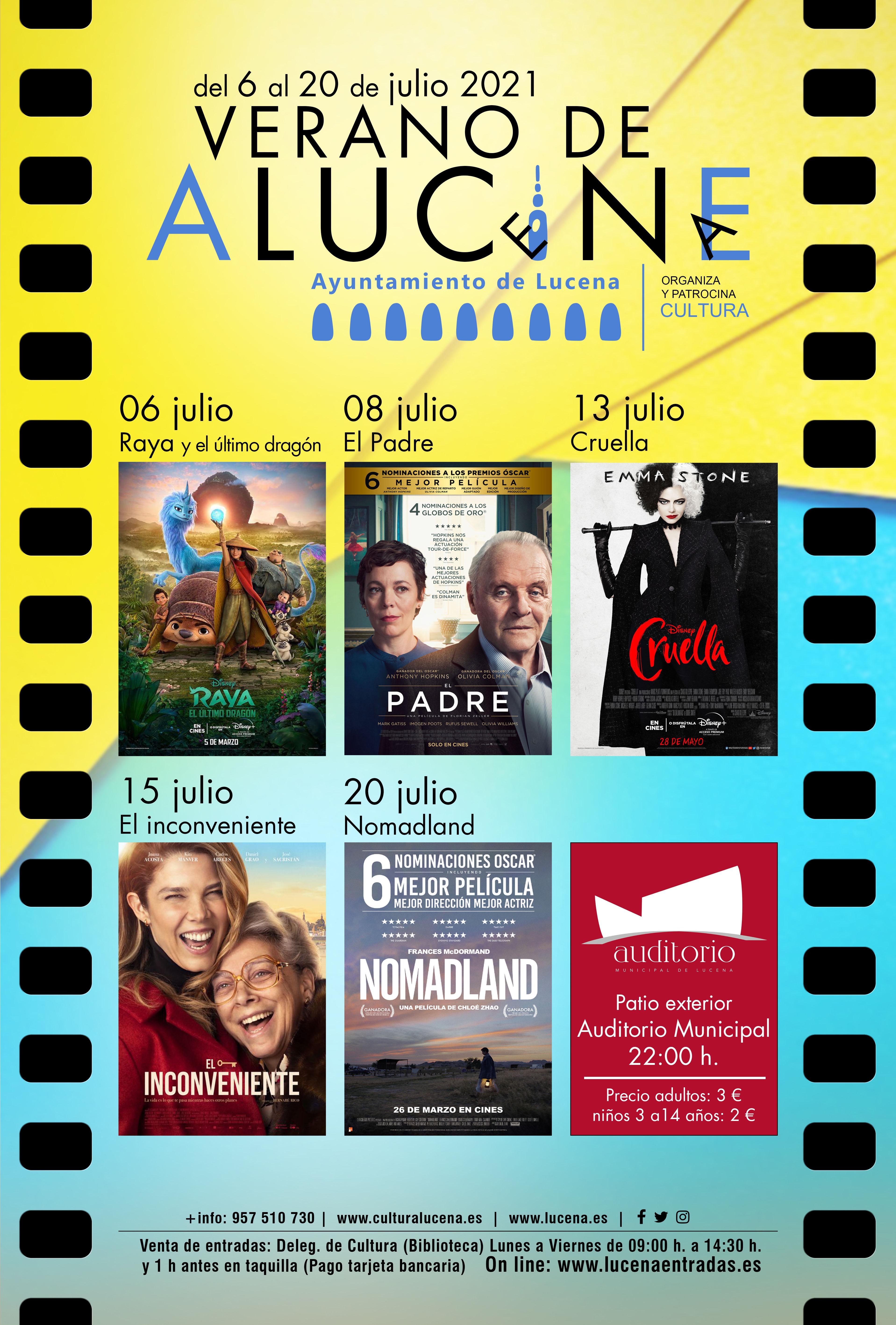 Verano de aluCine @ Auditorio de Lucena (patio)