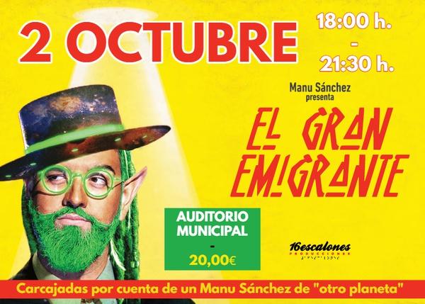 EL GRAN EMIGRANTE @ Auditorio Municipal de Lucena