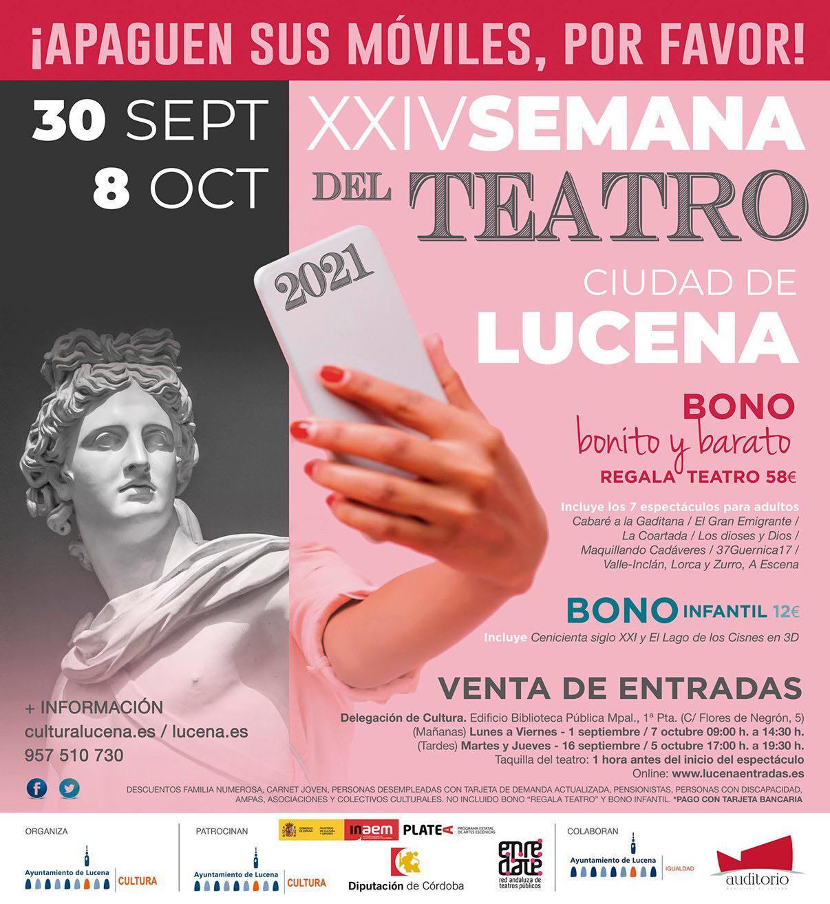 XXIV SEMANA DEL TEATRO @ Auditorio/Erisana